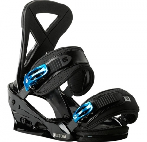 Крепления Burton Custom Black 13-14